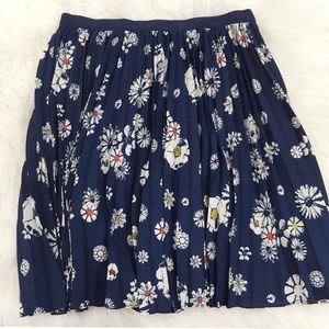 NWT Jason Wu for Target Floral Print Pleated Skirt